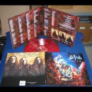 SODOM- Code Red LIM.500 CLEAR RED-COOL/GREY BLACK MARBLED...